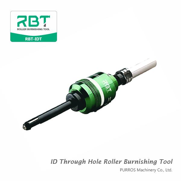 Внутренний диаметр через инструмент для обжатия роликовых отверстий, идентификационный инструмент для обрезки отверстий RBT-IDT