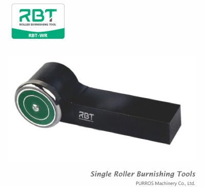 RBT R-type Single Roller Burnishing Tool, Outside Surface Single Roller Burnishing Tool