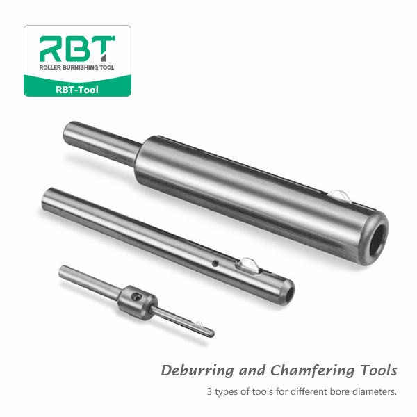 3 types of tools for different bore diameters.